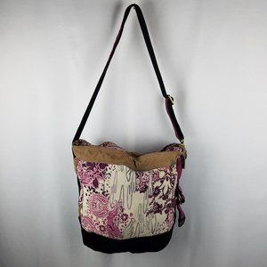 Lucky Brand bag canvas and leather crossbody